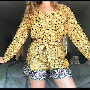 ADORABLE J.CREW ROMPER IN SUMMER PAISLEY